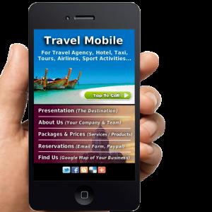 Travel Mobile Website